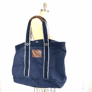 Abercrombie & Fitch Snap-Button Large Tote Bag
